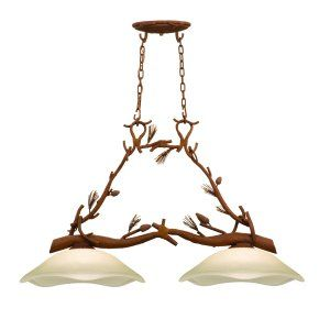Kalco Lighting KAL 5025PD Ponderosa 2 Light Island