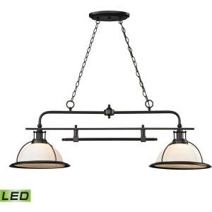 ELK Lighting ELK 55046 2 LED Wilmington 2 Light Island/Billiard Light