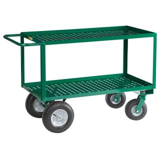 Brennan Equipment and Manufacturing Inc Little Giant 2 Shelf Steel Nursery Cart