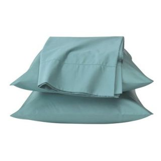 Fieldcrest Luxury Egyptian Cotton 600 Thread Count Sheet Set   Blue (California