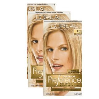 LOreal Paris Preference Hair Color Bundle   Natural Blonde
