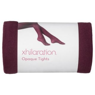 Xhilaration Juniors Fashion Tights   Dark Red M/Tall