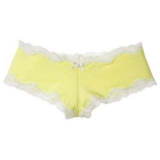 Gilligan & OMalley Womens Micro With Lace Cheeky Hipster   Sunlit Vine L