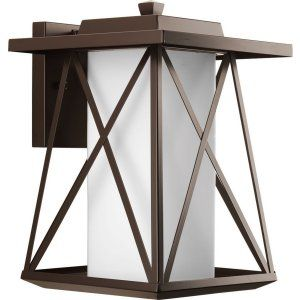 Progress Lighting PRO P6049 20 Scope 1 Light Large Lrg. Wall Lantern (10.5) wit