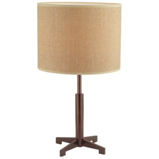 Forecast Lighting F653170 Fisher Island 1light Table Lamp in Merlot Bronze
