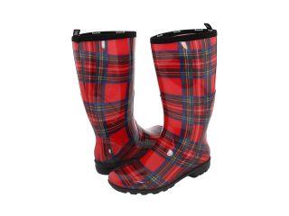 Kamik Christina Printed Womens Rain Boots (Red)