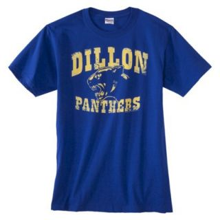 Mens Dillon Panthers Graphic Tee   Royal Blue XXL
