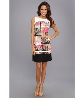 Anne Klein Dandelion And Cotton Sateen Shirt Dress Womens Dress (Multi)
