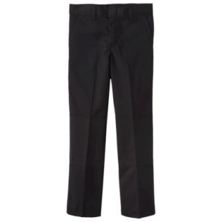 Dickies Boys Double Knee Extra Pocket Pant   Black 8