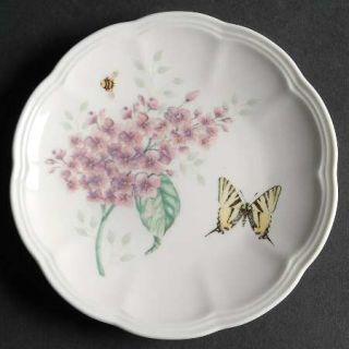 Lenox China Butterfly Meadow 6 Party Plate, Fine China Dinnerware   Multicolor