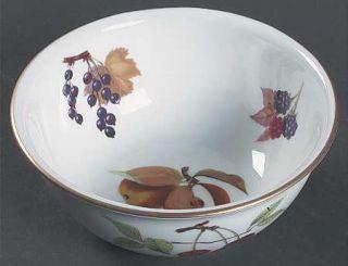 Royal Worcester Evesham Gold (Porcelain) 6 Round Serving Bowl, Fine China Dinne