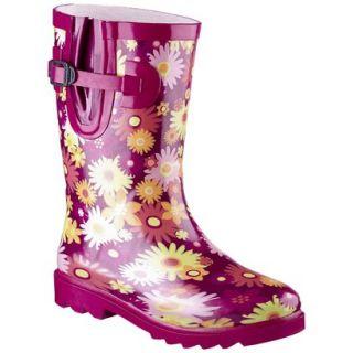 Girls Maribelle Rain Boot   Pink 4