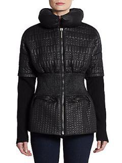 Alinga Quilted Puffer Jacket   Noir