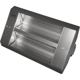 TPI Indoor/Outdoor Quartz Infrared Heater   17,065 BTU, 208 Volts, Galvanized