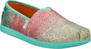 Infant/Toddler Girls Skechers BOBS World III Glitterbug   Blue/Multi Alpargatas