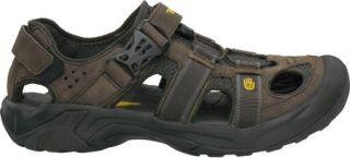 9c1ba104527 ... Mens Teva Omnium Leather Brown Sandals ...