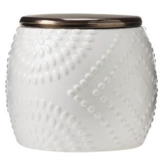 Threshold Ceramic Cookie Jar   Shell White