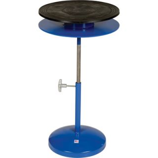 Vestil Heavy Duty Manual Turntable   Double Tier, With Pedestal, 300 Lb.