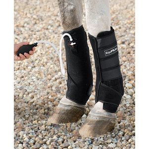 Equifit Tendon Gelcompression Boot Black 16
