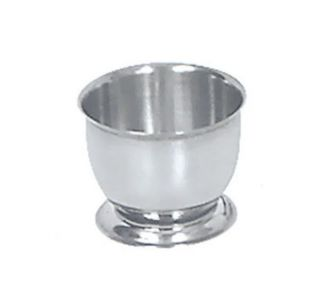 Browne Foodservice Egg Cup, 1 1/2 x 2 in, Stainless Steel, Mirror Finish