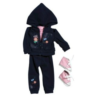 Adora Doll Clothes   Girl Scout Daisy Hooded Jacket/Pant Set (18)