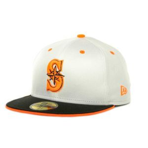Seattle Mariners New Era MLB Deez Neon 59FIFTY Cap