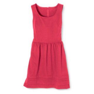 Merona Womens Ponte Dress   Blazing Coral   L