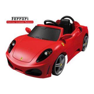 Feber Ferrari F430 6 Volt Battery Operated Car Riding Toy Multicolor   FEB