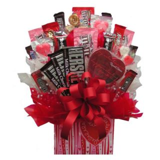 Sweetheart Box Candy Bouquet Multicolor   IAMG021