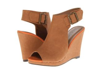 Michael Antonio Arianna Womens Wedge Shoes (Tan)