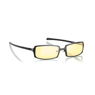 Gunnar Optiks Anime Computer Glasses (OnyxStyle ModernModel ANI 00103Z Frame Aluminum magnesiumLens Amber, anti glare lensDimensions Lens 2.2 inches wide, bridge 18 mm across, arms 5.2 inches longLightweight construction and proper weight balance gua