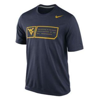 Nike Legend Training Day (West Virginia) Mens T Shirt   Navy