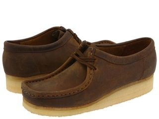 Clarks Wallabee Womens Lace up casual Shoes (Brown)