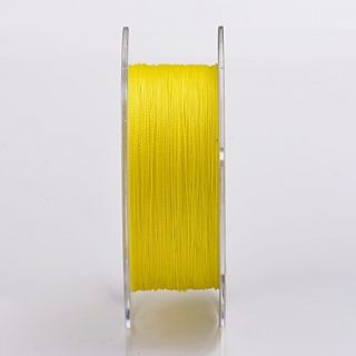 100% PE Spectra Dyneema Braid Fishing Line 300M All Size Yellow 4 Carriers Braided Fishing Line