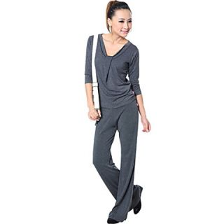 Fashion Modal Skin Friendly Soft Slim Half Sleeve Yoga Suit