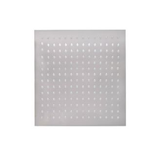 12 Modern Design Ultrathin Stainless Steel Square Shower Head