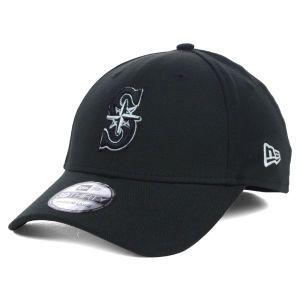 Seattle Mariners New Era MLB Black White Classic 39THIRTY Cap