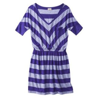 Mossimo Supply Co. Juniors V Neck Dress  Kindred Blue XS(1)