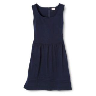 Merona Womens Ponte Dress   Xavier Navy   S