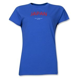 Japan 2013 FIFA U 17 World Cup UAE Womens T Shirt (Royal)