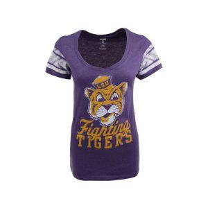 LSU Tigers NCAA Womens Large Mascot V Neck Jersey