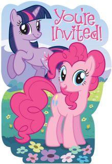 My Little Pony Friendship Magic Invitations