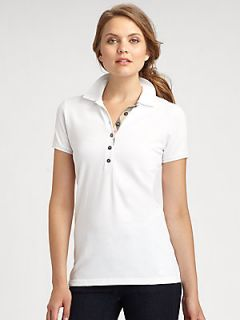 Burberry Brit Embroidered Polo Shirt