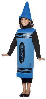 Blue Crayola Child Costume