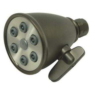 Oil Rubbed Bronze 6 Jet Adjustable Spray Showerhead