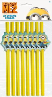 Despicable Me 2   Party Straws