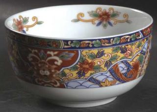 China(Made In China) Imari Edo 5 All Purpose (Cereal) Bowl, Fine China Dinnerwa